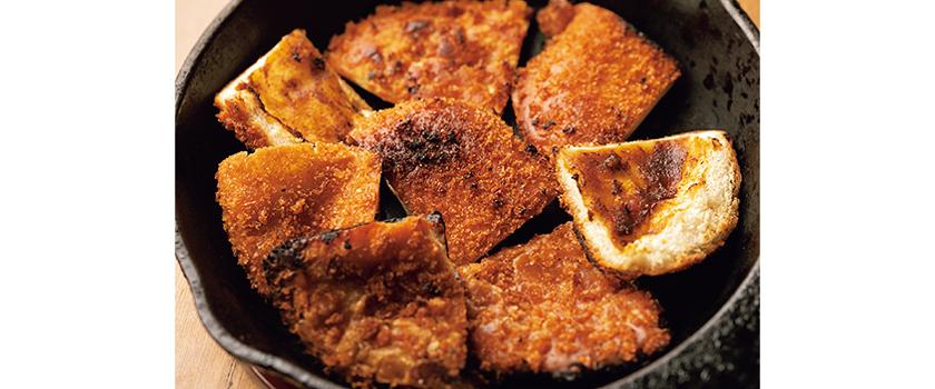 チーズ焼きカレーパン レシピ手順1
