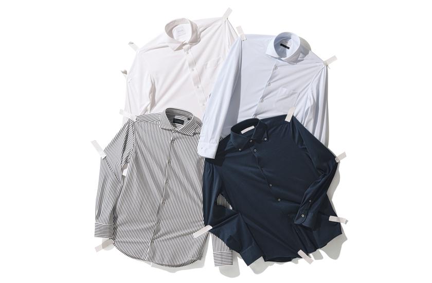 ストレッチシャツ4種