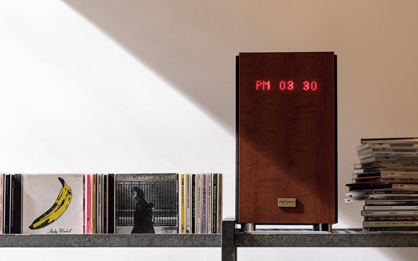 ANABAS audio アナバス オーディオ CDクロックラジオシステム
