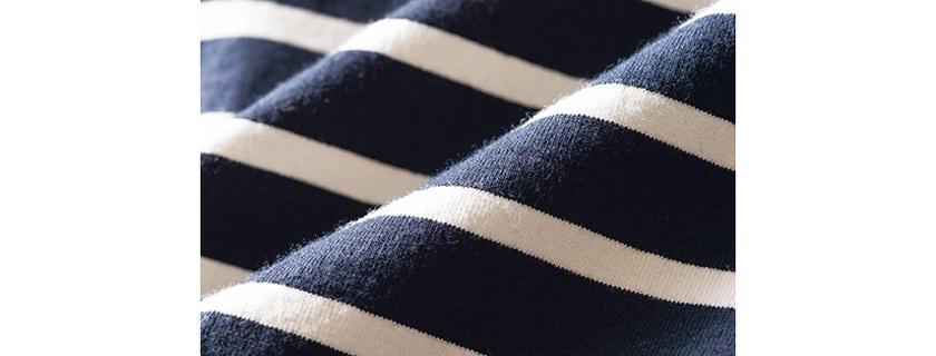 シップス エクスクルーシブ バイ サブトラクト リラックスフィットTシャツ 生地拡大