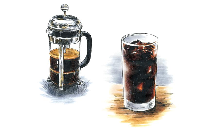 コーヒープレス 水出しコーヒー