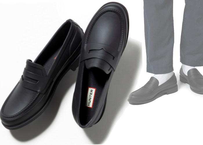 レザーローファーと見間違う!? ビジネスマンの足元にハマる雨靴【ブランド語り処】