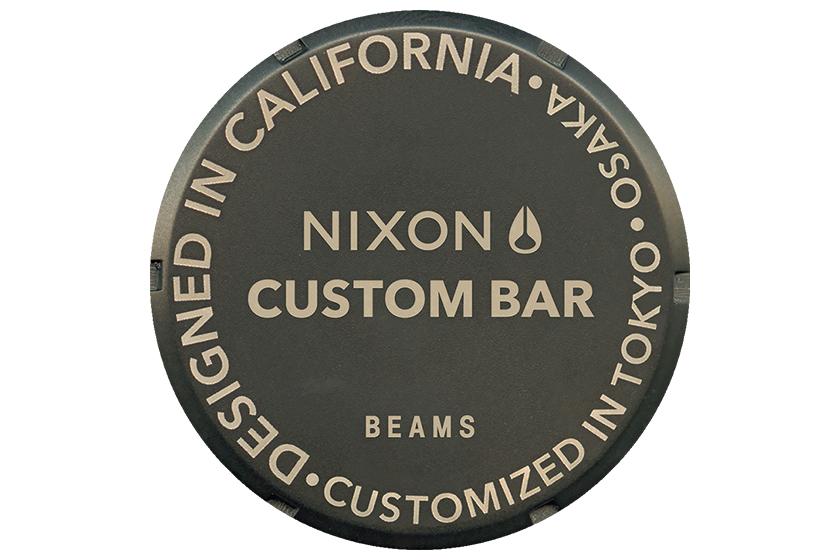 ニクソンの時計をカスタムできるイベントが梅田で開催