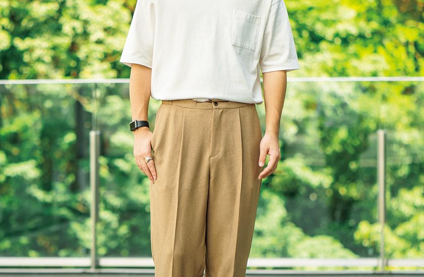 ビーミング by ビームスのTシャツ パンツ モデル着用
