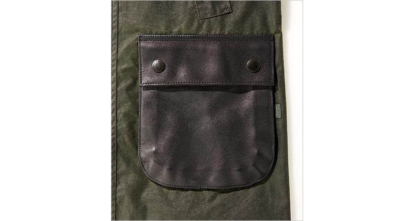 パラブーツの代名詞「リスレザー」のポケット