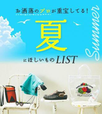 夏にほしいものLIST