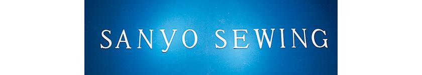 SANYO SEWING/サンヨーソーイング ロゴ