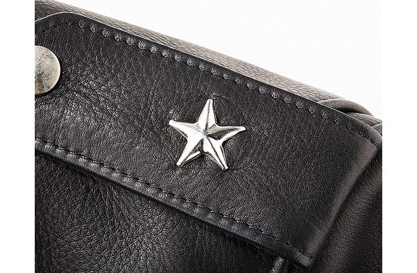 ワンスターの象徴たるエポレットの星型スタッズ