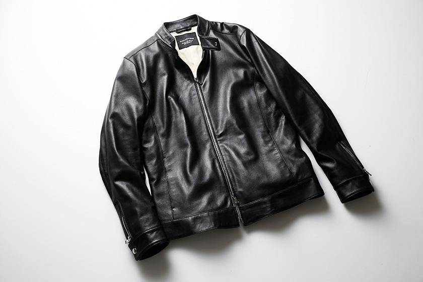 ナノ・ユニバースのレザージャケット