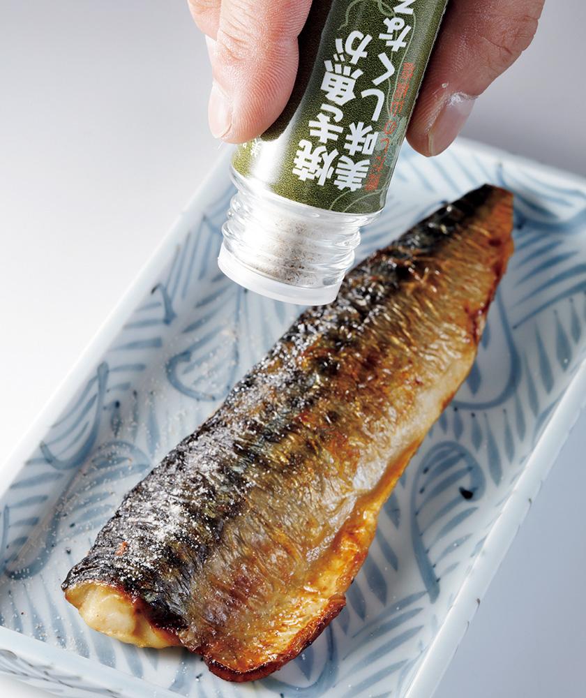 """三洋産業 和だしパウダー """"焼き魚が美味しくなる!"""""""