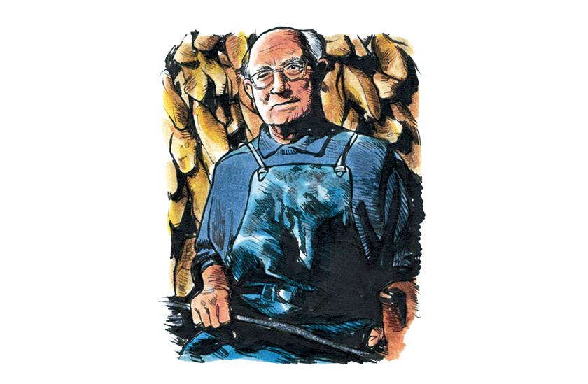 木型職人テリー・ムーア