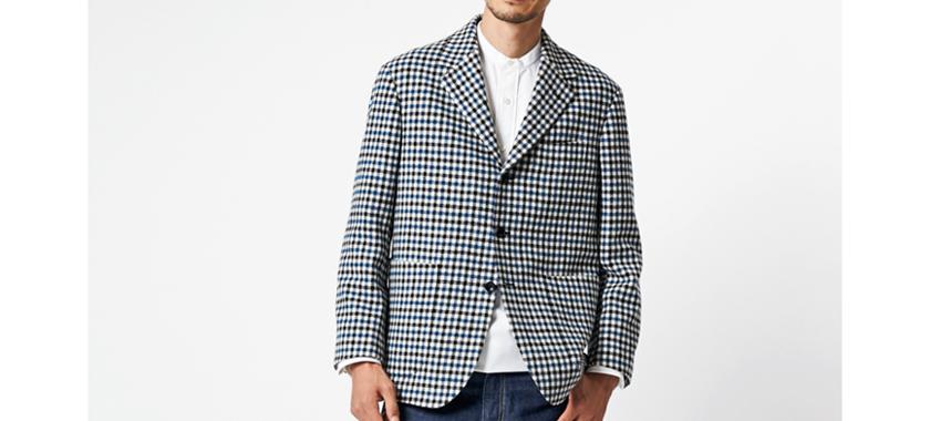 MORLES[モアレス]スラウチジャケット モデル着用