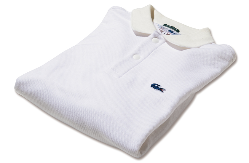 LACOSTE × SHIPS[ラコステ×シップス]スウェット ロングスリーブ ポロシャツ