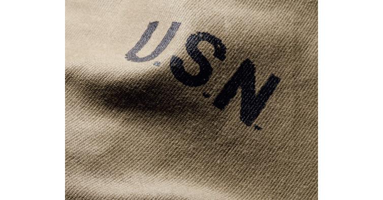 ヒューストンのN-1ジャケットはデッキジャケットならではの素材も再現