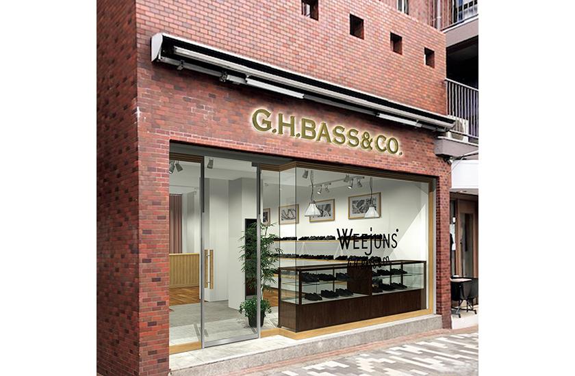 G.H.バス初の直営店が神宮前にオープン