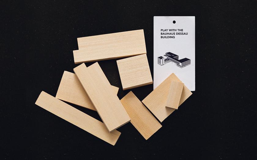 Cinqpoints サンクポワン バウハウス デッサウビルディングパズル
