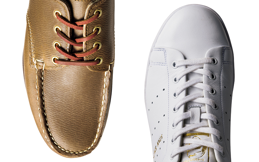 adidas×EDIFICE アディダス×エディフィス スタンスミス リコン RANCOURT&Co.×BEAMS PLUS ランコート×ビームス プラス 4EYEオイルド レンジャーモカシン