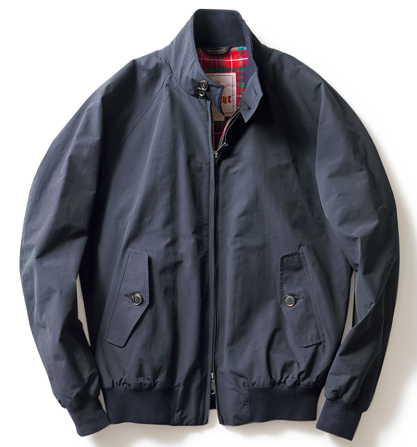 BARACUTA バラクータのハリントンジャケット
