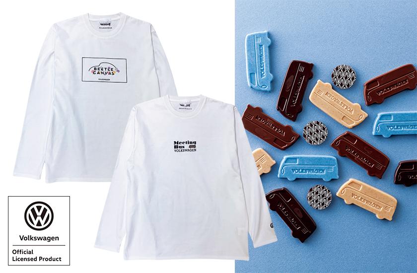 フォルクスワーゲン×モロゾフ×アバハウスのBEETLE CANVAS ロングTシャツ