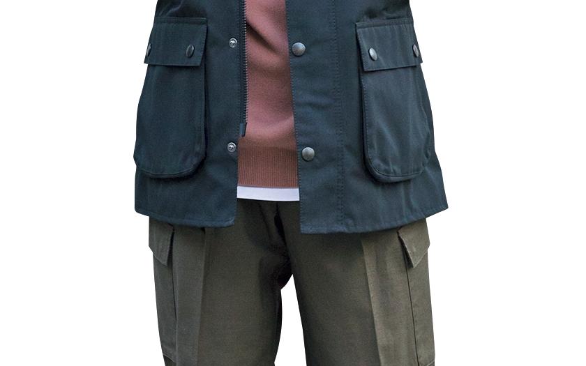 BARBOUR バブアーのフィールドジャケット