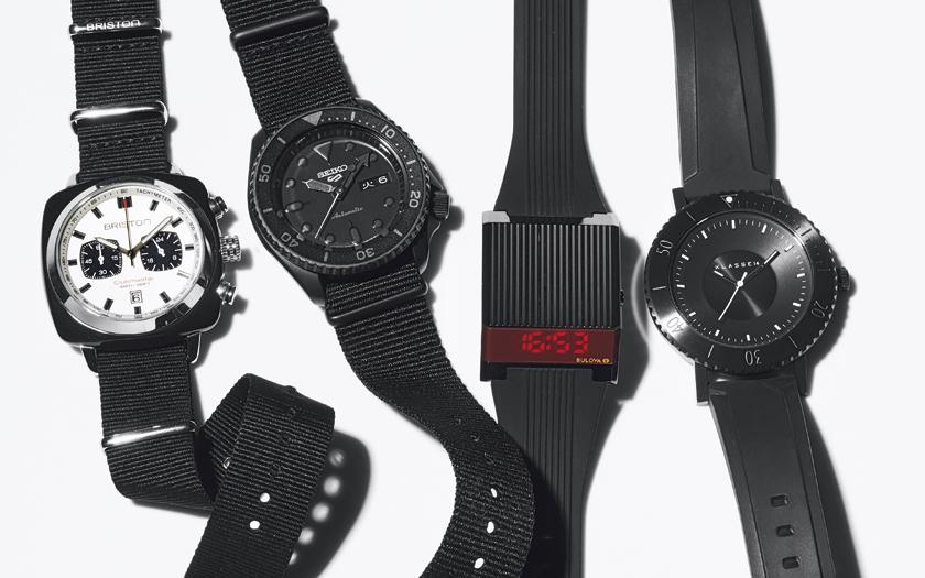 原さんセレクトのフルブラック時計