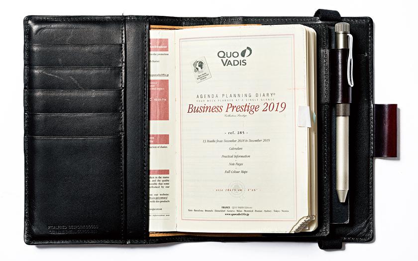 Whitehouse Cox&Pt.Alfred ホワイトハウスコックス&Pt.アルフレッド 手帳
