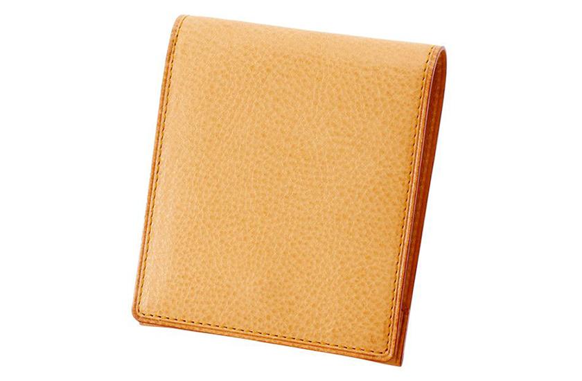 GANZO/ガンゾのミネルバナチュラル コンパクト2つ折り財布