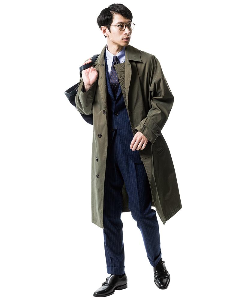 バブアーのコート