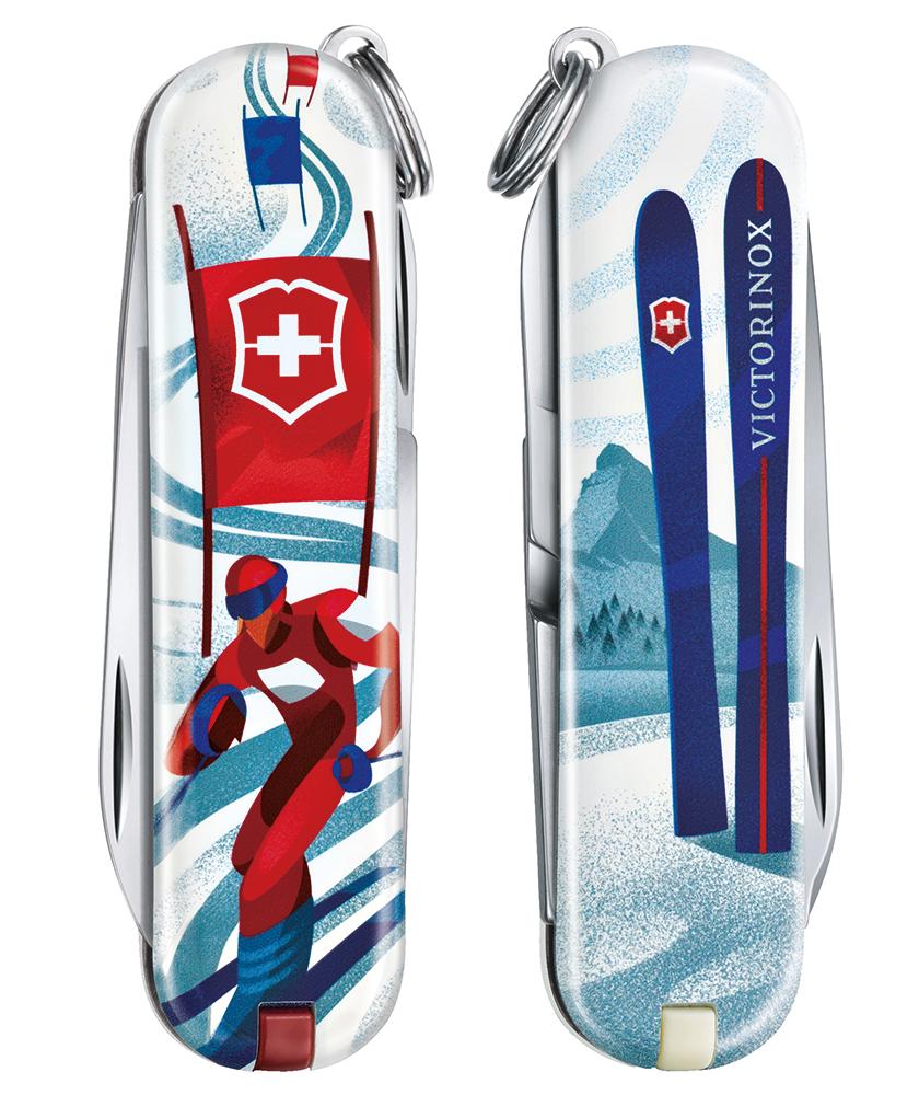ビクトリノックスのクラシック リミテッドエディション 2020 スキー・レース