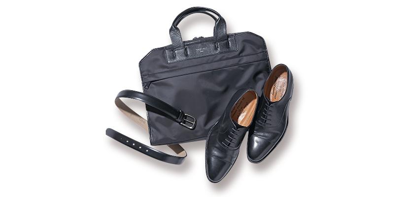 スレッド&スパイスの鞄 メゾン オクトパシーのベルト ジャラン スリワヤの靴