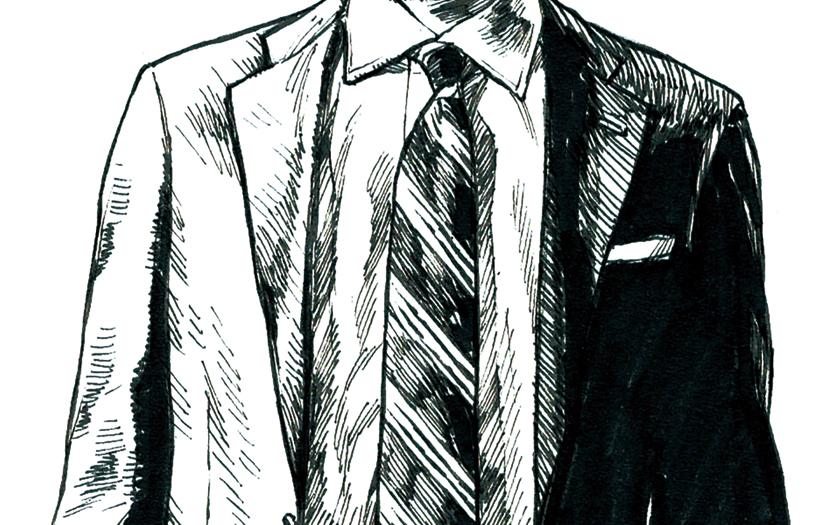 スーツスタイル 美差の所作