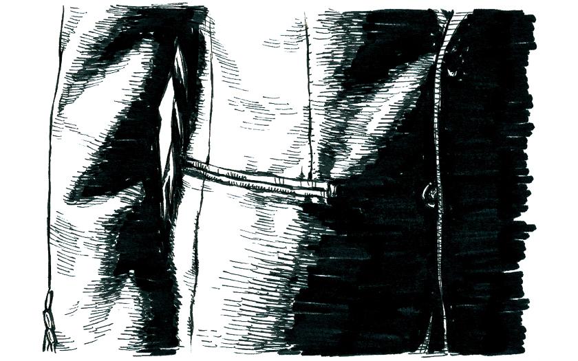 スーツスタイル 美差の所作 ポケット フラップ