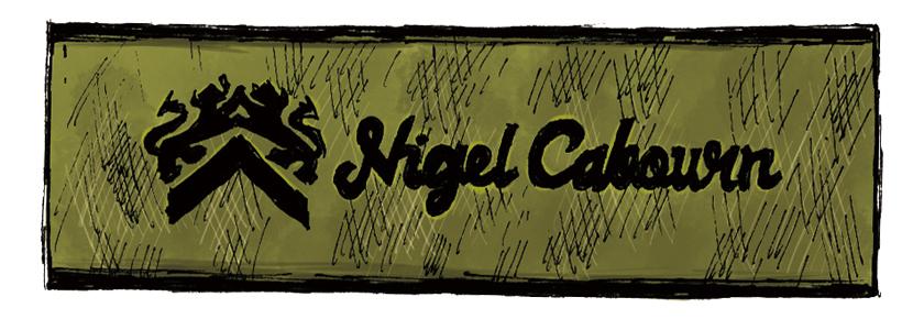 NIGEL CABOURN ナイジェル・ケーボン ロゴ