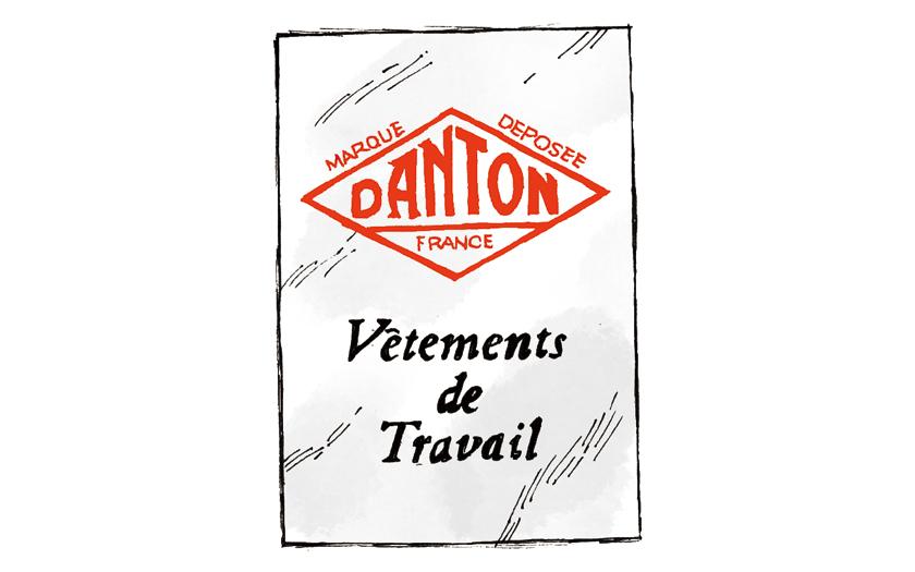 DANTON ダントン ロゴ