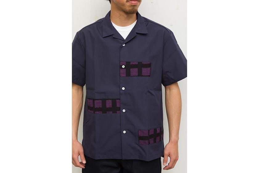 ショートパンツ エブリデイの久留米絣 ランダムシャツ