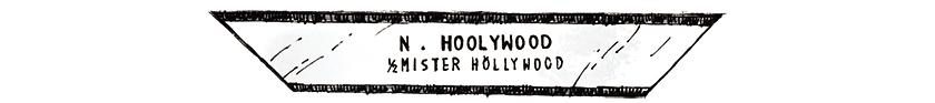 N.HOOLYWOOD N.ハリウッド