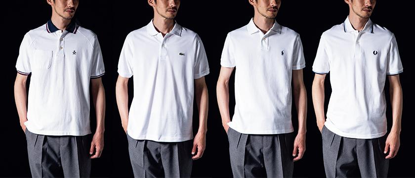傑作ポロシャツのシルエット比較