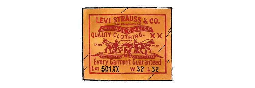 LEVI'S VINTAGE CLOTHING リーバイス ビンテージ クロージング ロゴ
