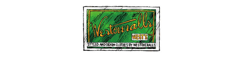 WEST OVERALLS ウエストオーバーオールズ ロゴ