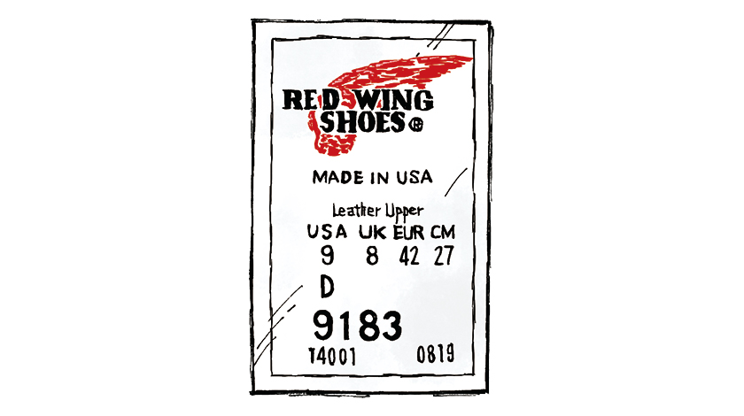 RED WING レッド・ウィング ロゴ