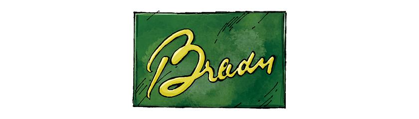 BRADY ブレディ ロゴ