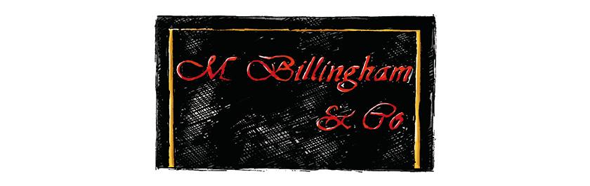 BILLINGHAM ビリンガム ロゴ