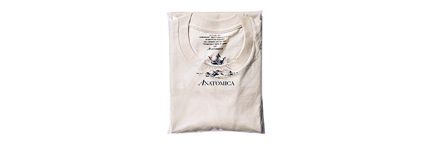 ANATOMICA アナトミカ オーガニックコットンT