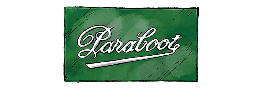 PARABOOT パラブーツ ロゴ