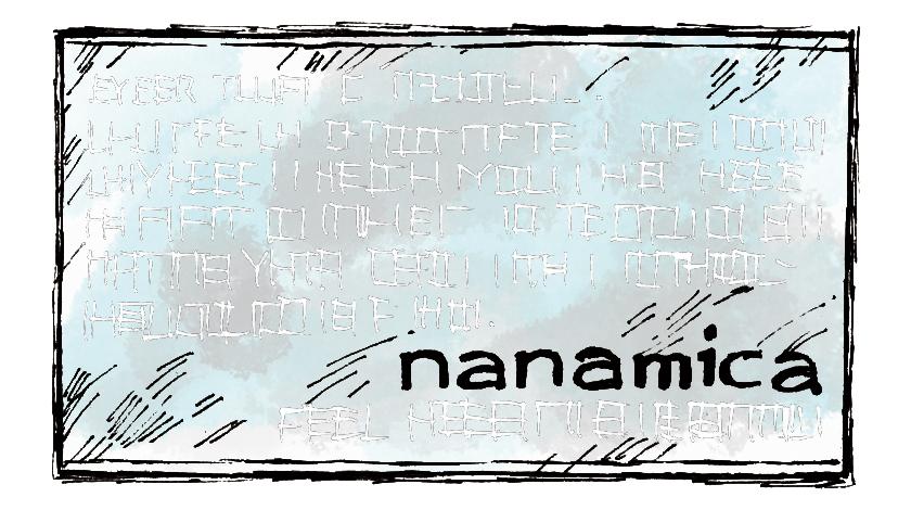 nanamica ナナミカ ロゴ