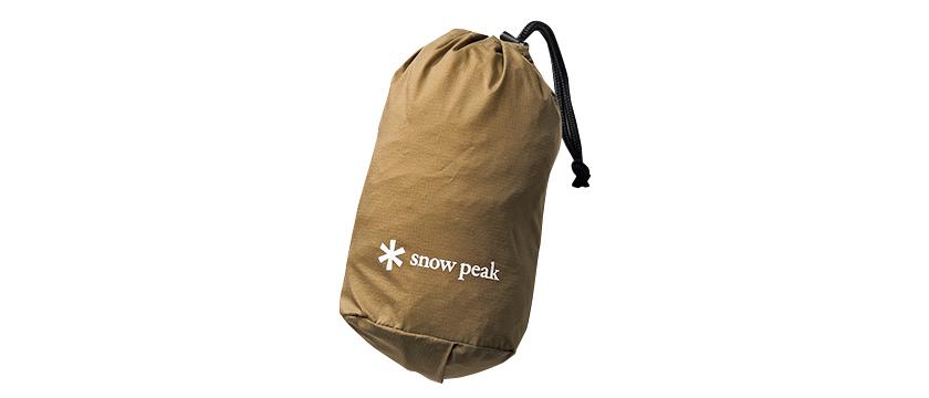 Snow Peak スノーピーク レインポンチョ