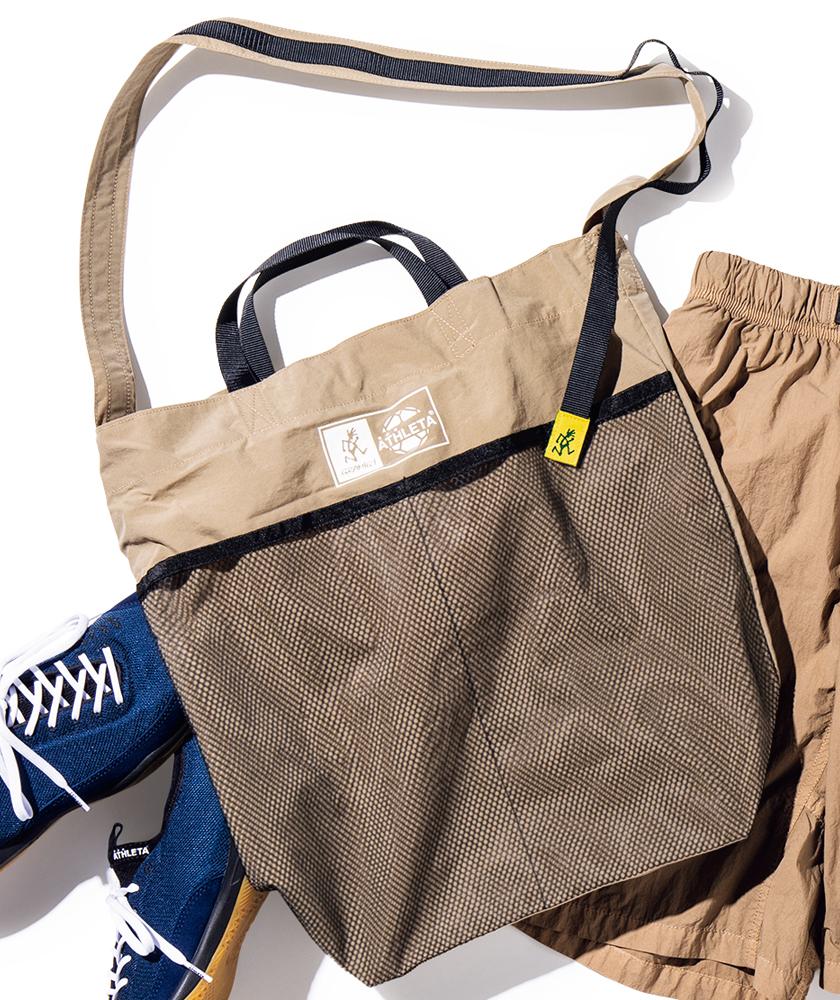 GRAMICCI×ATHLETA グラミチ×アスレタ クラシコ ショッピングバッグ