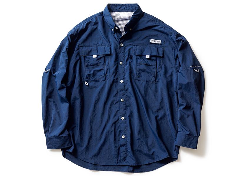 Columbia コロンビア バハマⅡ ロングスリーブシャツ