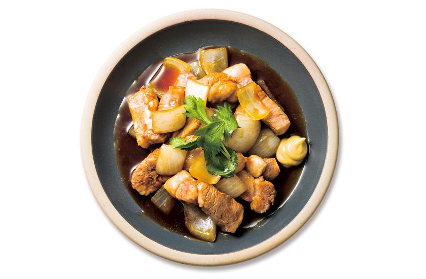 焼鳥 吉田屋 室蘭やきとりのたれ 豚肉と玉ねぎ炒め
