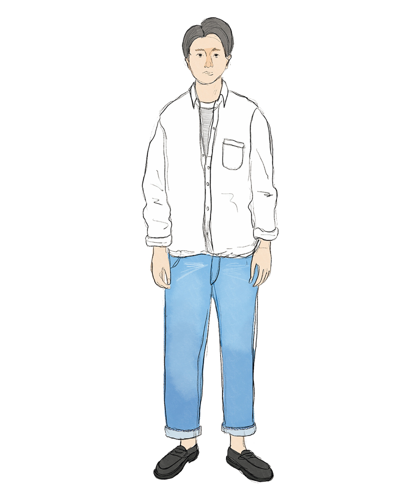 INDIVIDUALIZED SHIRTS インディビジュアライズド シャツ ボタンダウンシャツ WAREHOUSE ウエアハウス デニム